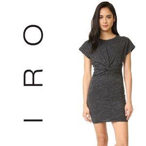 IRO dark heather grey t shirt dress